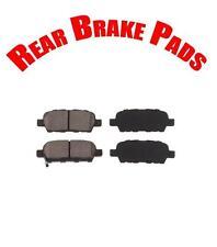 New Rear Brake Pads for EX35 FX35 G35 G37 M35 M45 Q60 370Z Altima Rogue Sentra