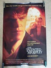 One Sheet Movie Poster Original Rolled The Talented Mr. Ripley #220