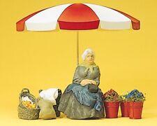 Preiser 45046 Marktfrau mit Schirm und Körben 1:22,5 / Spur G