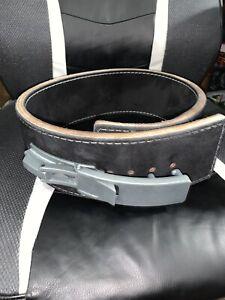 Pioneer 13mm Thick- Lever Powerlifting Belt / Black/ Medium (31-40) /