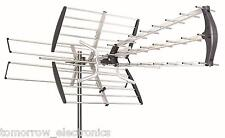 180 Mile HDTV 1080p Outdoor Amplified HD TV Antenna Digital UHF/VHF FM Radio