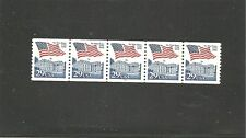 USA MNH STRIP OF 5 PNC SC#2609 STAMPS FLAGS S-843