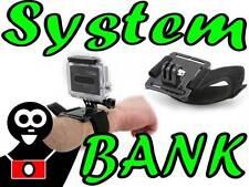 Support Bandeau Fixation poignée bande sur la main le bras la jambe pour GoPro