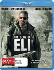 The Book Of Eli (Blu-ray, 2010) Denzel Washington Brand New Sealed
