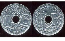 FRANCE   FRANCIA   10 centimes  1937  LINDAUER   SPL