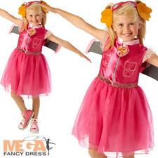 Paw Patrol Skye Girls Fancy Dress Book Day Week Dog Puppy Kids Childrens Costume