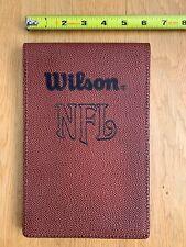 NFL Leather Notebook - American Bowl 1986 London Football Bears vs Cowboys