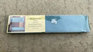 Pier 1 Imports Director Chair Replacement Teal Discontinued Canvas Cover