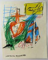 Jean Michel Basquiat Neo-Expressionism, Signed