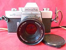 Minolta Spiegelreflex Kamera srTmc-II MD Rekkor 1: 1,7 f=50mm Lens made in Japan