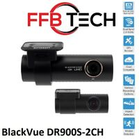 BlackVue DR900S-2CH 4K UHD Dashcam GPS WiFi Cloud (16GB) Authorized Dealer