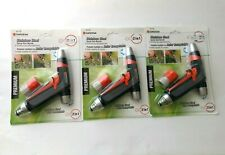 Lot 3 packs Gardena Premium Stainless Steel 2 in 1 Spray water Gun Nozzle 9917M