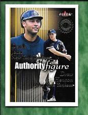 Derek Jeter Drew Henson 2001 Fleer Authority Figure AF3 #0852/1750