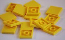 15x Lego® 3068b Fliesen Tiles 2x2 gelb yellow Parts Bausteine
