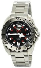 Seiko 5 Sports Automatic SRPB33 Black Dial Stainless Steel Men's Watch