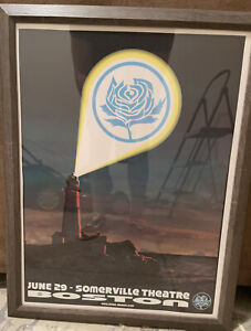 "Ryan Adams Somerville Theater ""Boston"" Poster. Free Shipping!"