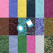Miyuki Delica 11/0 7 grams 1200 Glass Seed Beads Color Lined 92 colors U-Pick
