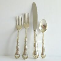 Rondo by Gorham Sterling Silver Place Setting Salad Fork Dinner Fork Knife Spoon