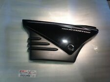LEFT SIDE PANEL FOR YAMAMA YBR 125 CUSTOM METALLIC BLACK BATTERY COVER
