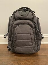 OGIO Renegade RSS Backpack—Black with Gray Stitching; Gently Used