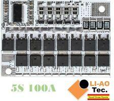 18V 100A 5S BMS Li-ion LMO Ternary Lithium LiFePO4 LiFe Battery Protection Board
