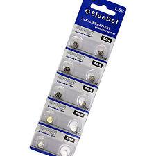 10 Pk Ag4 Lr626 377 376 G4A Lr66 L626 Gp7 BlueDot Alkaline Button Cell Battery