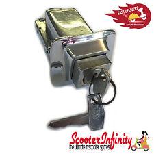 Seat Lock (Piaggio) (Aluminium Polished) (Vespa PX 80-200, PE, T5)