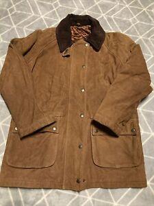 Womens Leather & Sheepskin Coat Size 14 Nursey