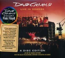 DAVID GILMOUR LIVE IN GDANSK 2 CD AND 2 DVD BOXSET NEU