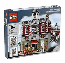 Brand New Sealed MINT Condition LEGO Creator Fire Brigade 10197