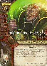 Warhammer Invasion - 1x #051 Stricken Warrior - The Accursed Dead