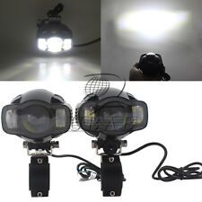 20w Charging USB Motorcycle LED Driving Headlight Fog Driving Light Pair Bracket