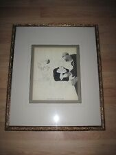 Original 1930 Paul Iribe Nicolas Limited Edition French Lithograph/Museum Frame