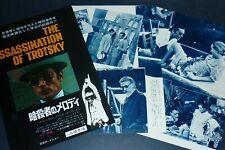 Lot of 3 ALAIN DELON Assassination of Trotsky 1972 JPN MOVIE AD & CLIPPINGS mc/p