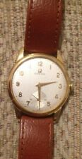 OMEGA GENTS WIND UP MECHANICAL WRISTWATCH GOLD CIRCA 1969