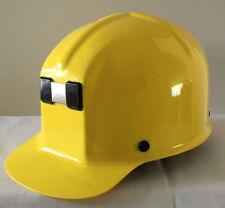 MSA ComfoCap Protective Hard Hat Helmet, Yellow, New, never worn, with booklet