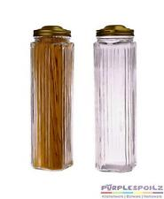 NEW GLASS SPAGHETTI JAR Pasta Fettuccine Holder Canister Cannister Storage 27CM
