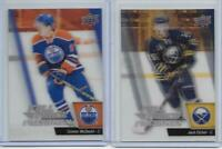 CONNOR McDAVID RC EICHEL ROOKIE 15-16 UPPER DECK FULL FORCE SET w BLUEPRINTS SET