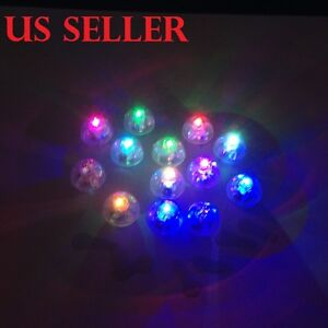 24pcs Color Changing Blinking LED Balloon Light For All Party Decor  H-30
