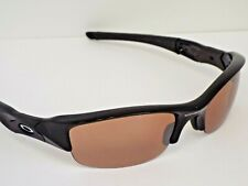 Authentic Oakley Customized Flak Jacket Black VR28 Black Iridium Sunglasses **