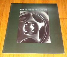 Original 1992 Mitsubishi Galant VR-4 VR4 Deluxe Sales Brochure