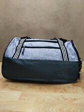 adidas Squad IV Duffel Bag Gym Duffel NEW Heather Gray earth green