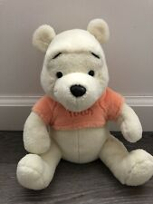 "Fisher Price Winnie The Pooh Bear Plush Stuffed Animal 9"" Plushie Soft Pastel"