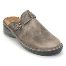 NAOT Aster - Size 38 (US 7) - Women's Clog - Vintage Grey Lther **gently worn**