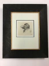 Stefano Della Bella Camel Head Etching AAA Certificate Of Authenticity