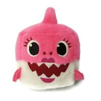 Baby Shark Singing Plush WowWee Pinkfong Cube ENGLISH Pink Stuffed Animal Toy
