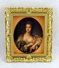 Accessoires Pour Maison De Poupées Miniature Madame Portrait Image Peinture dans