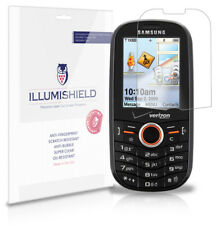 iLLumiShield Anti-Bubble/Print Screen Protector 3x for Samsung Intensity U450