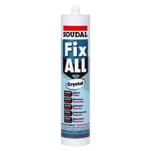 Soudal Fix All Crystal Adhesive - 290ML