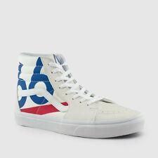 new Vans Sk8-Hi deck club Canvas/leather Skate Shoes Men's Size 7/wmns 8.5